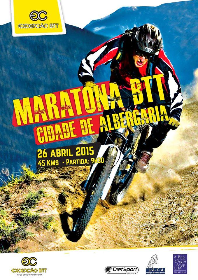 Maratona BTT Cidade de Albergaria 2015 Cartaz