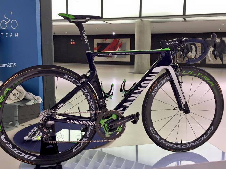 Movistar Team bike