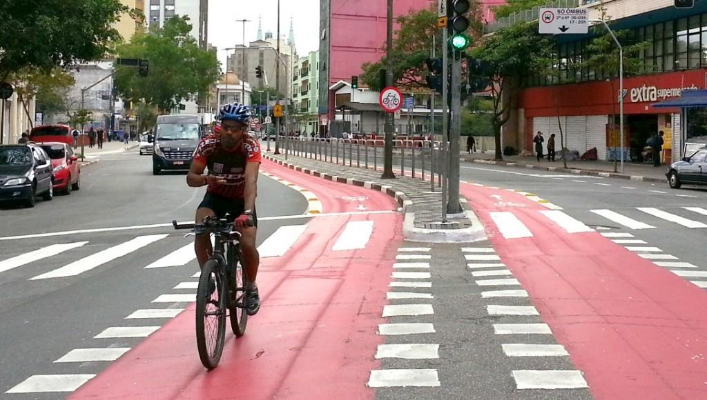 São Paulo Com Mais de 200 km de Ciclovias