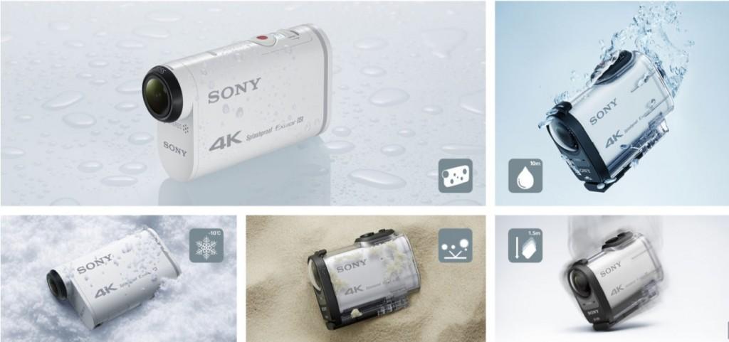 Sony Action Cam FDR-X1000V 4K (2)