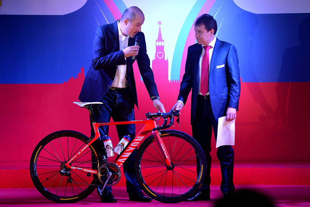 Team Katusha bike