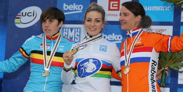 Pauline Ferrand Prevot Ciclocrosse
