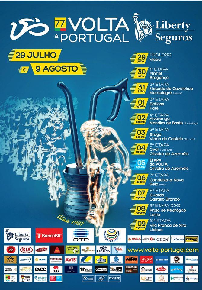 77ª Volta Portugal Liberty Seguros cartaz