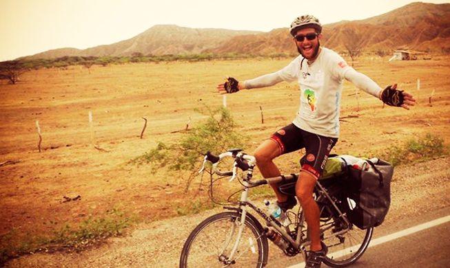 Apenas uma bicicleta felicidade