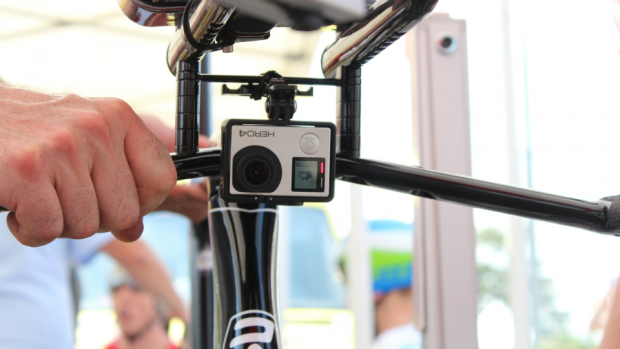 Bicicletas do Tour de France equipadas com GoPro