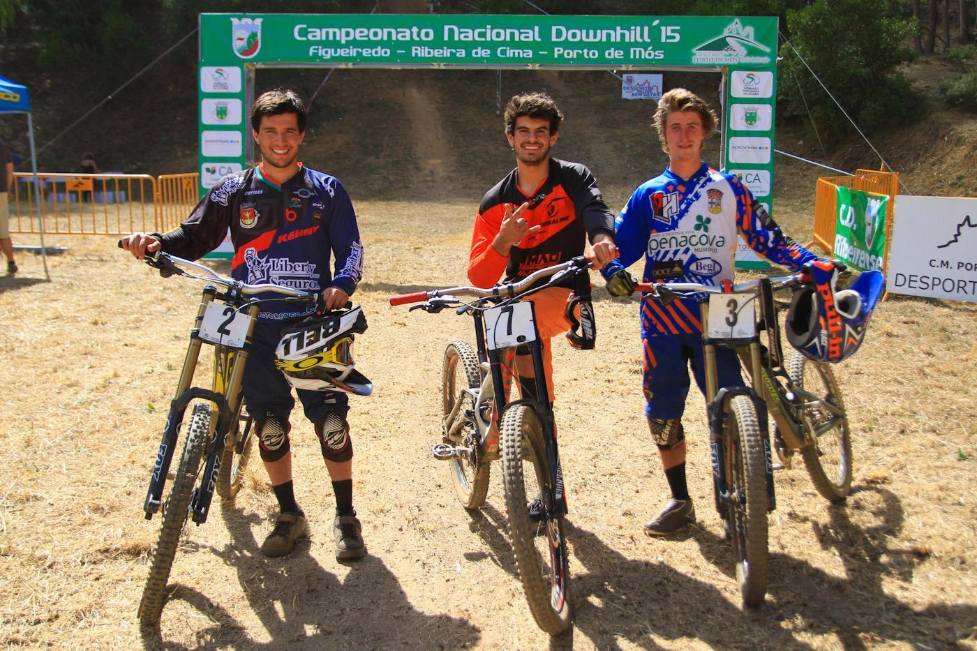 Campeonato Nacional DHI 2015 top 3