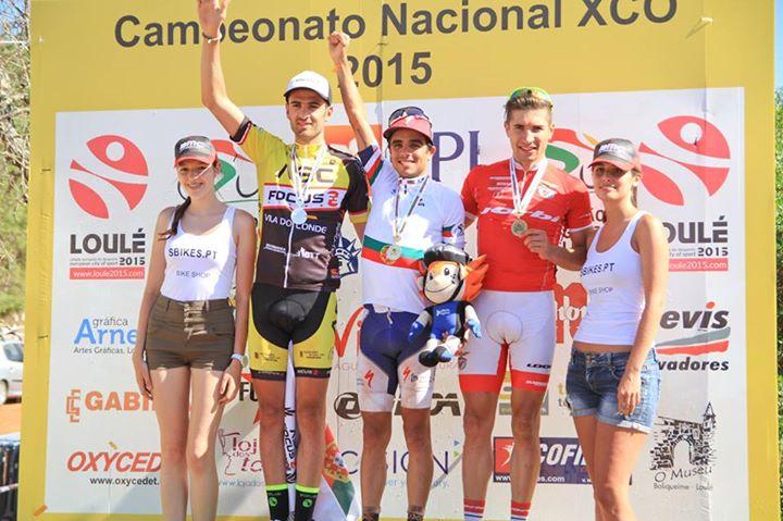 David Rosa Campeonato Nacional de XCO 2015
