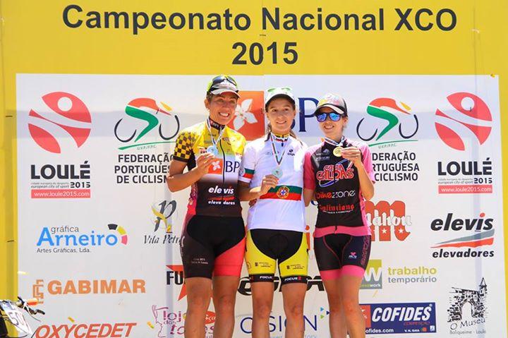 Joana Monteiro campeã Campeonato Nacional de XCO 2015