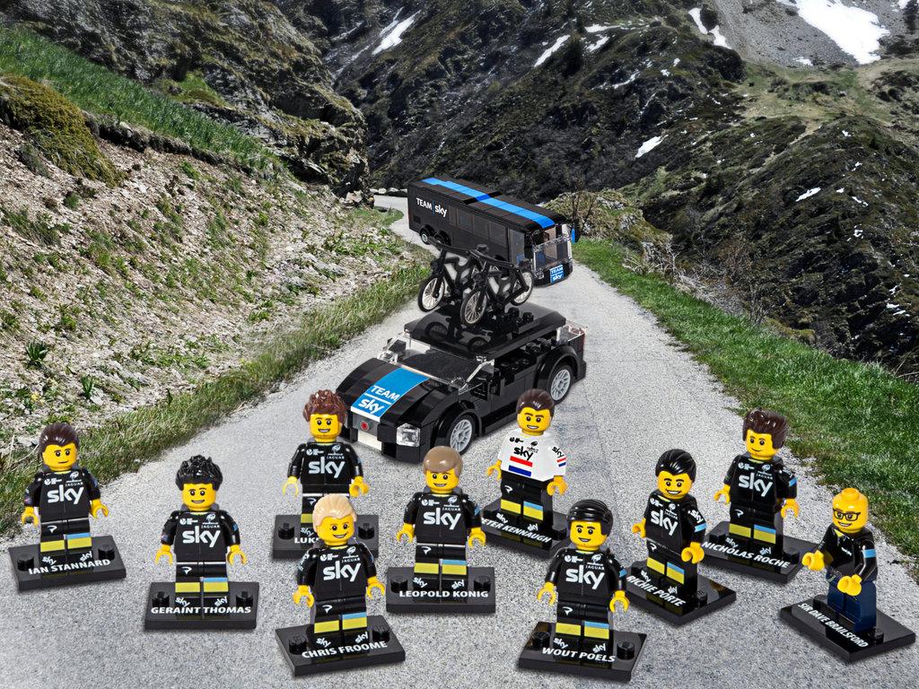 Team Sky Lego
