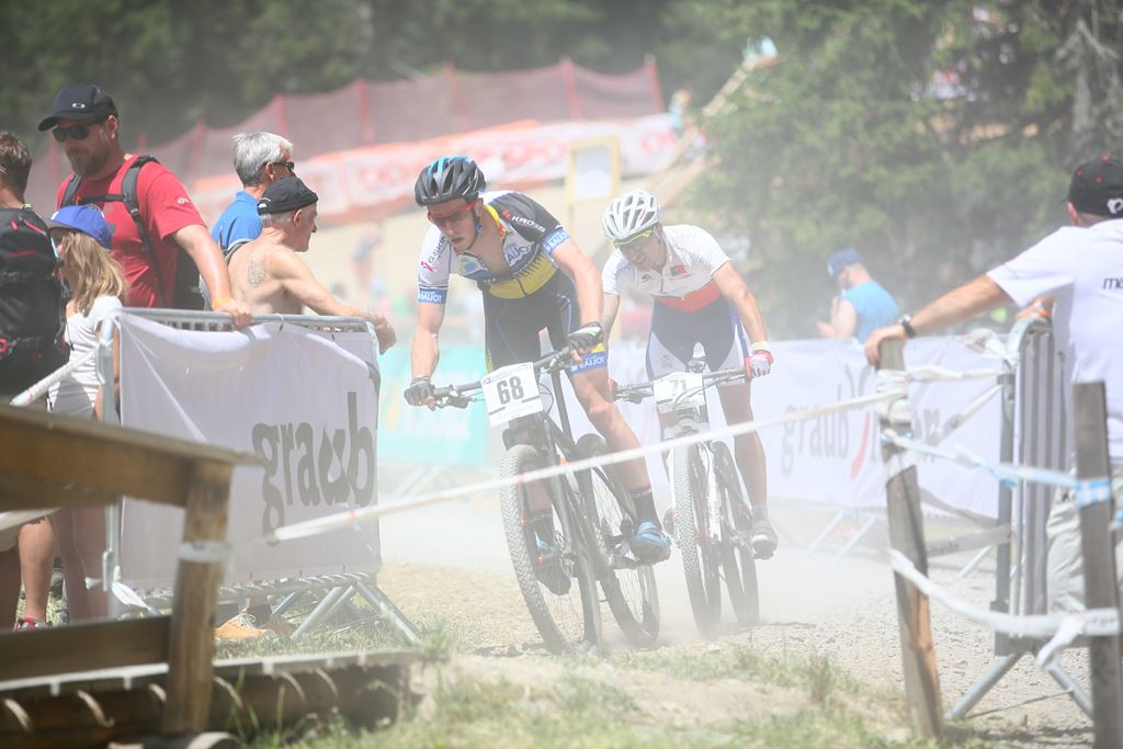 UCI Mountain Bike World Cup 2015 Lenzerheide Switzerland Ricardo Marinheiro