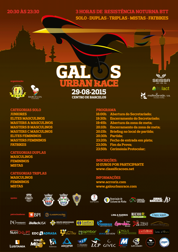 Galo's Urban Race 2015 cartaz