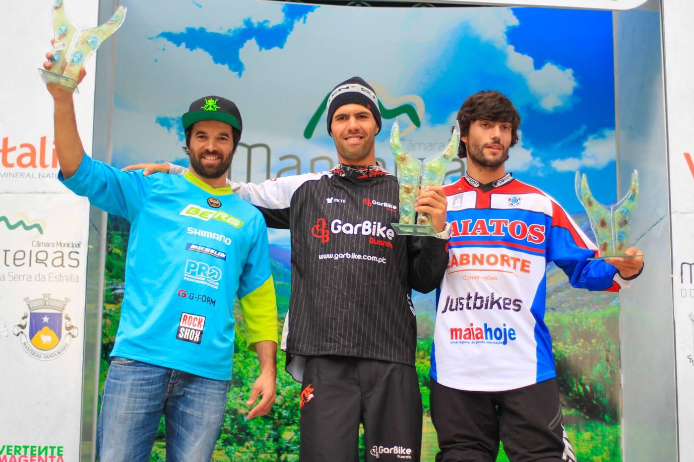 4.ª Prova da Taça de Portugal de Enduro BTT podio