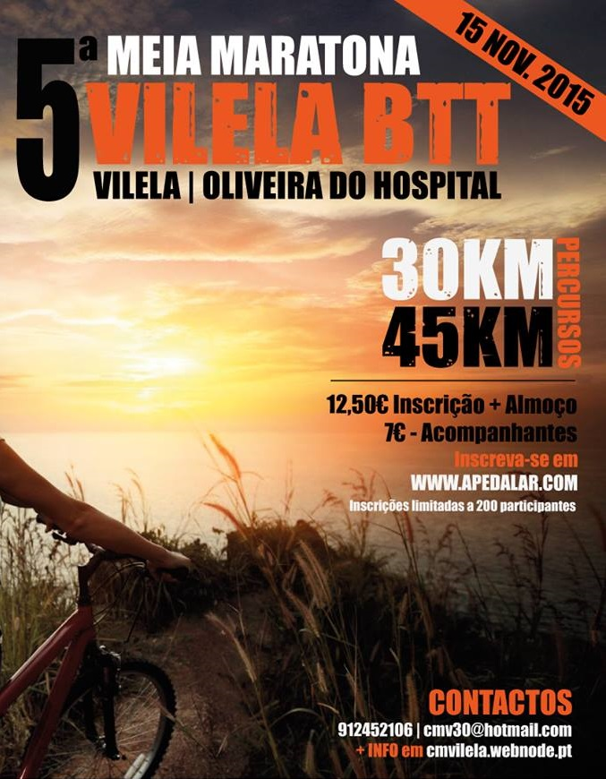 5ª Meia Maratona Vilela BTT