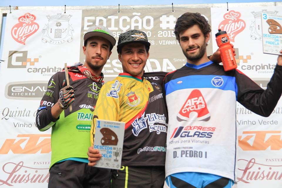 Emanuel Pombo vence Taça de Portugal de DHi 2015 podio