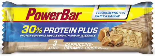 PowerBar 30 Protein Plus capuchinho caramelo crisp