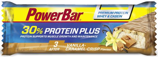 PowerBar 30 Protein Plus vanilla caramel