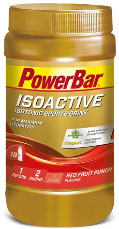 PowerBar IsoActive frutos vermelhos