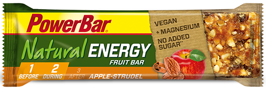 PowerBar Natural Energy Fruit & Nut apple strudel