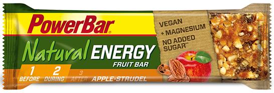 PowerBar Natural Energy Fruit & Nut apple strudel