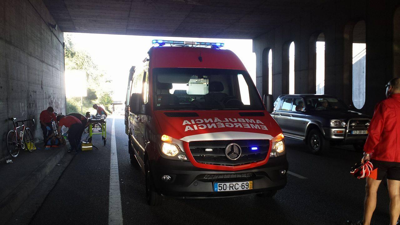 Ciclista morre atropelado em Braga (2)