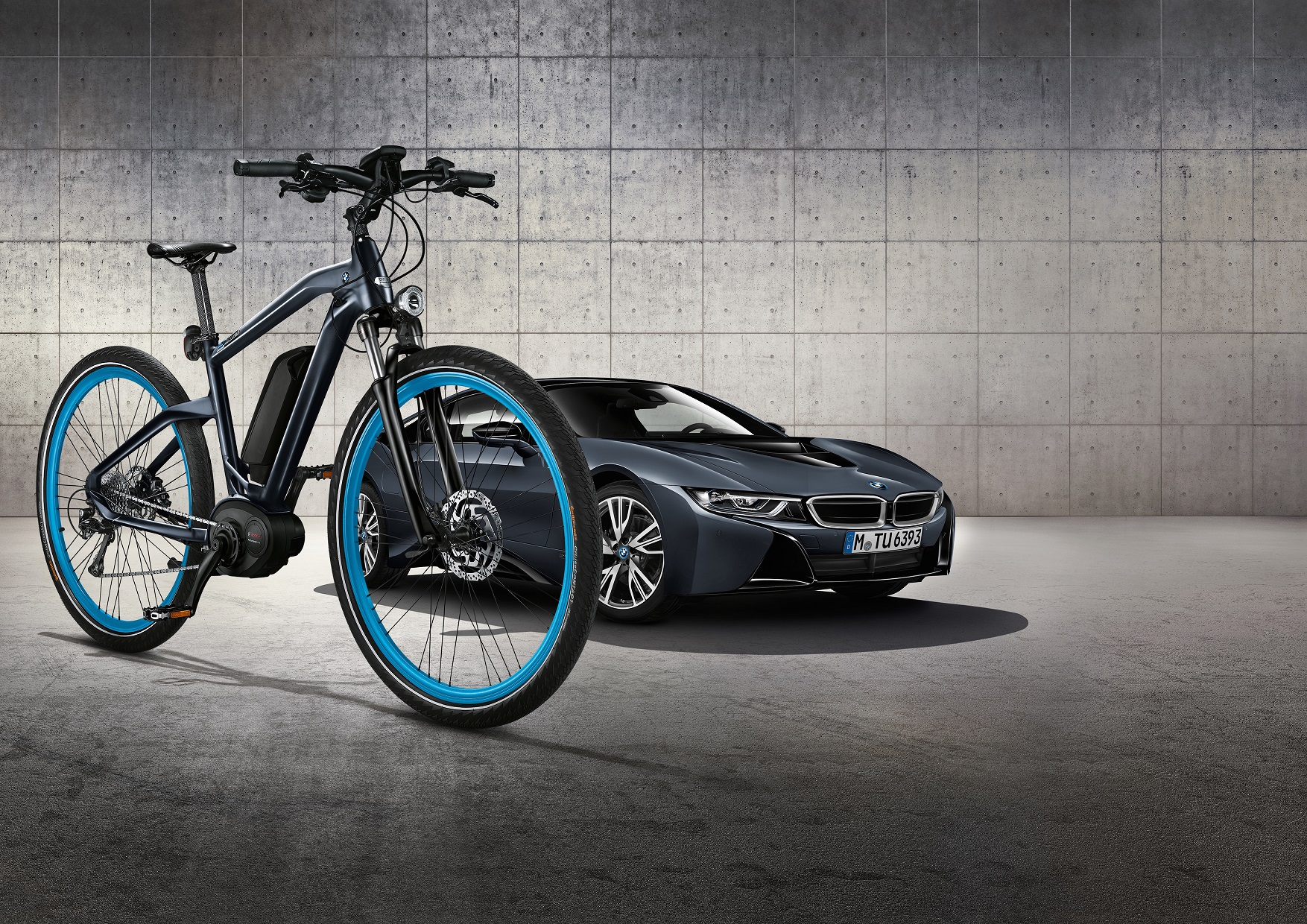 BMW Cruise e-Bike i8